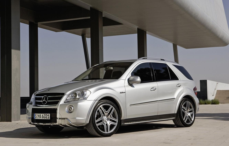 Photo wallpaper SUV, Mercedes, mercedes-benz ml 63 amg