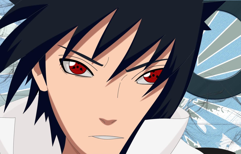 Wallpaper Face Naruto Red Eyes Sharingan Ninjutsu