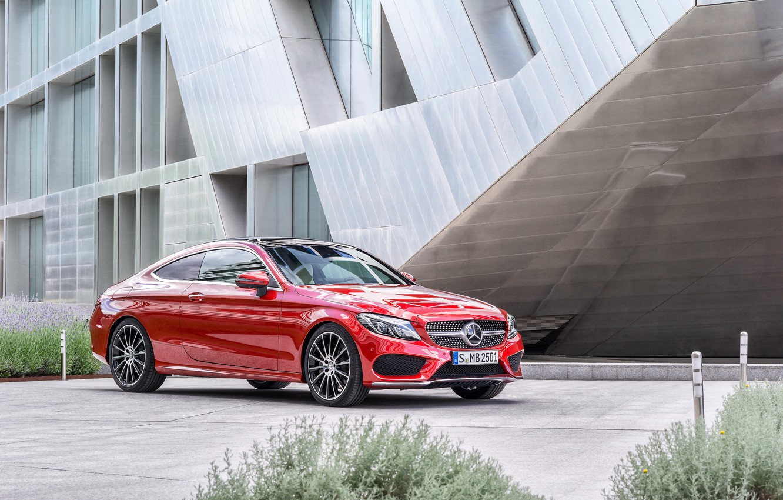 Photo wallpaper coupe, Mercedes-Benz, Mercedes, Coupe, C-Class, C205
