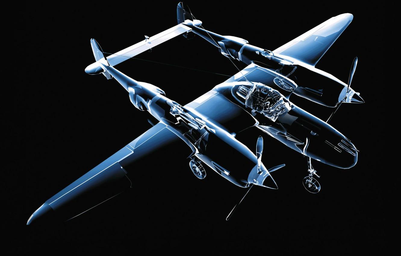 Photo wallpaper transparent, model, The plane