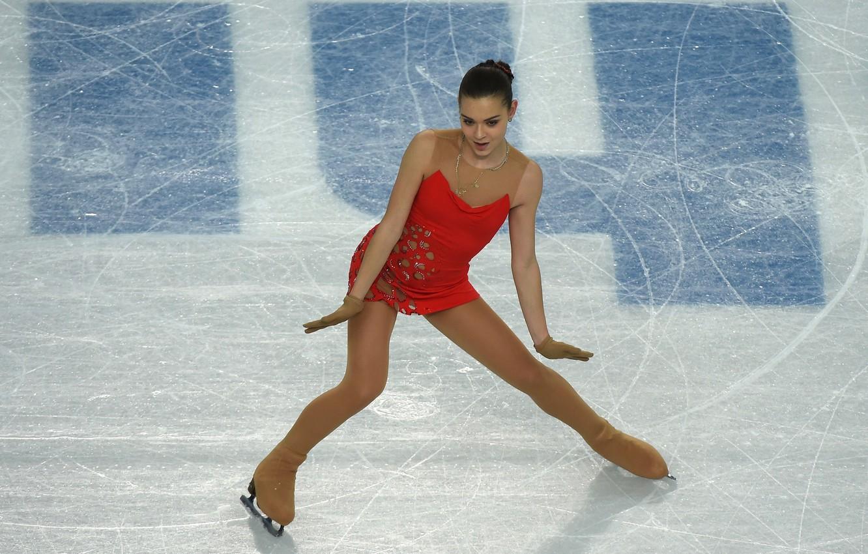 Photo wallpaper figure skating, RUSSIA, Sochi 2014, The XXII Winter Olympic Games, Sochi 2014, skater, champion, sochi …