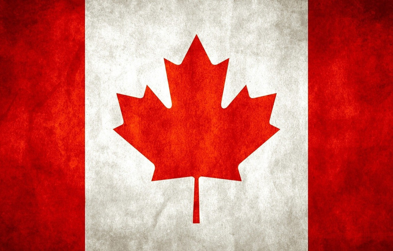Photo wallpaper flag, Canada, Canada, flag