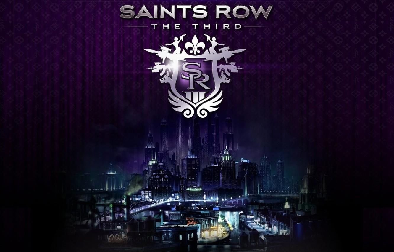 Wallpaper Logo Saints Row The Third Stilport Images For