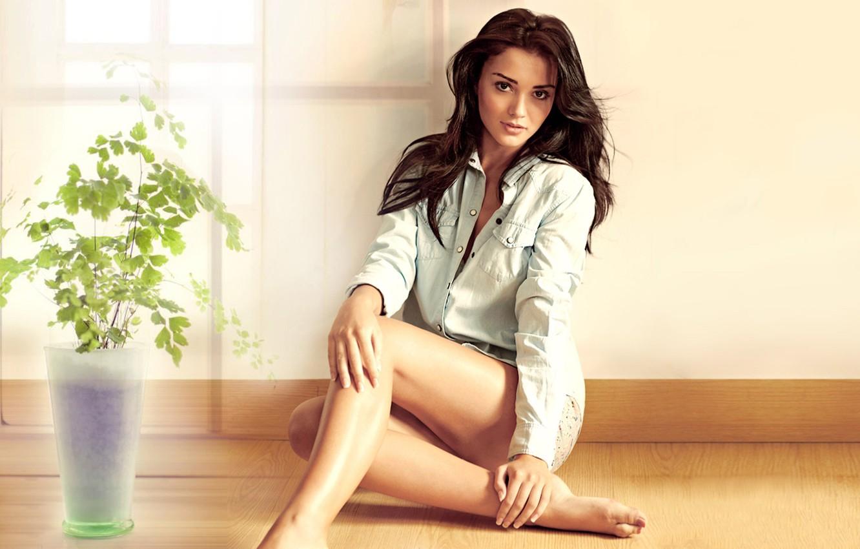 Photo wallpaper Hollywood, Hot, Beauty, Woman, Actress, Amy Jackson