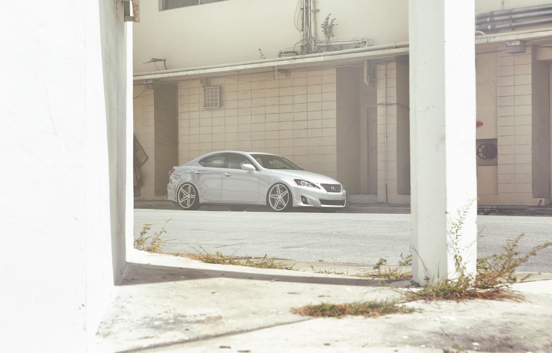 Photo wallpaper Lexus, Lexus, tuning, Vossen, IS250, CV5