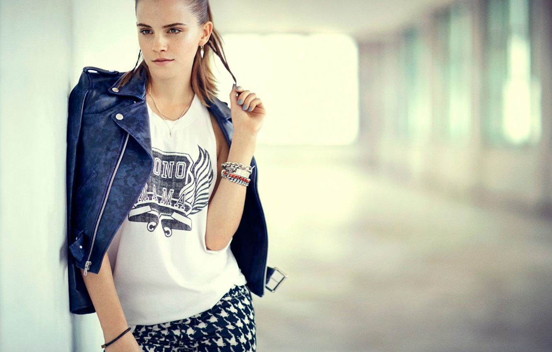 Photo wallpaper actress, Emma Watson, Emma Watson, Teen Vogue