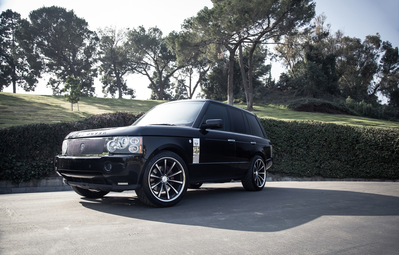 Photo wallpaper Range Rover, tuning, Supercharged, Vossen