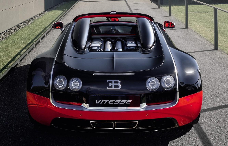Photo wallpaper Roadster, Bugatti, Veyron, Grand Sport, Vitesse