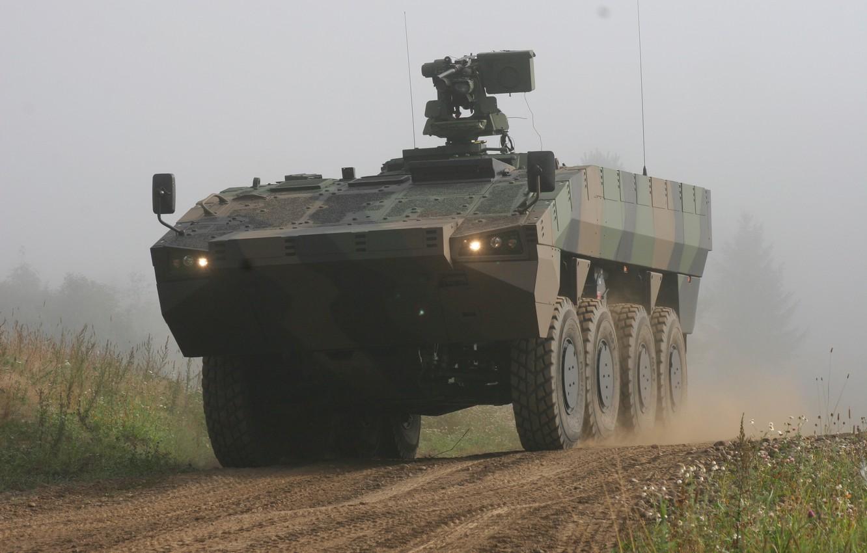 Photo wallpaper Weapons, Patria AMV, APC, Military equipment