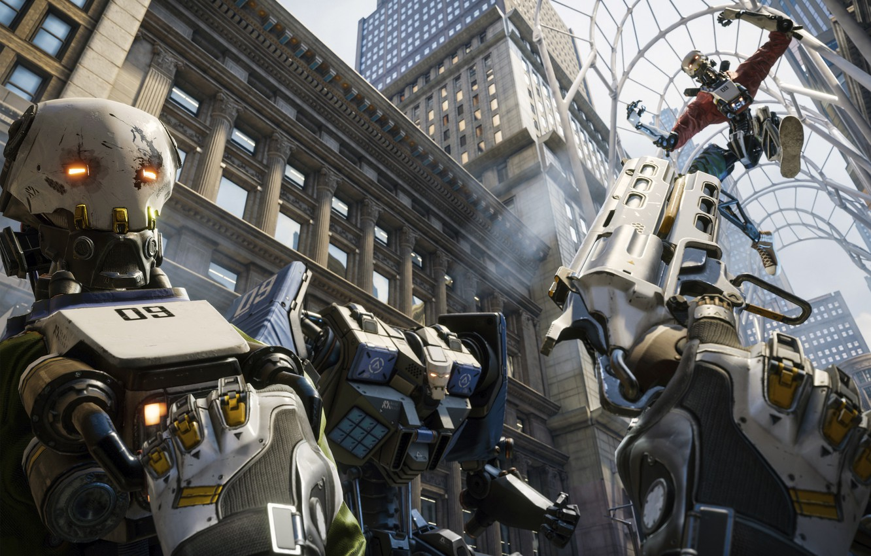 Photo wallpaper Epic Games, Key Art, Robo Recall