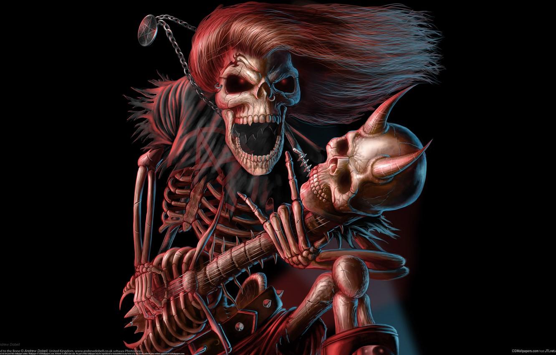 Photo wallpaper music, guitar, concert, rock, rock, musician