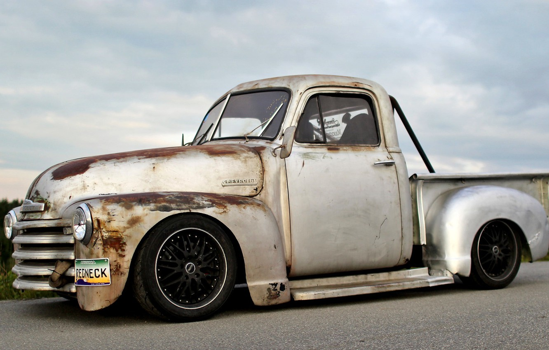 Photo wallpaper Chevrolet, Desktop, Drift, Car, Car, Beautiful, Wallpapers, Pickup, Wallpaper, Automobiles, Chevrolet, Cramps, Pikat, Old, The …