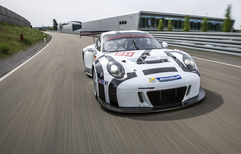 Photo wallpaper 911, Porsche, Porsche, 991, GT3 R, 2016