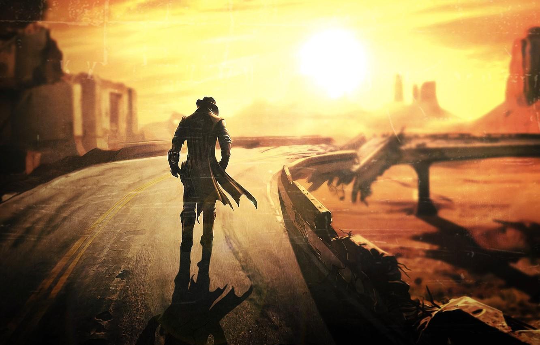 Photo wallpaper Fallout, Fallout New Vegas, post apocalypse