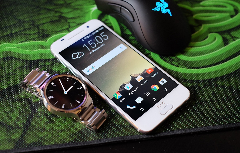 Photo wallpaper white, mouse, Mat, razer, HTC, Smartphone, One A9, smart watch