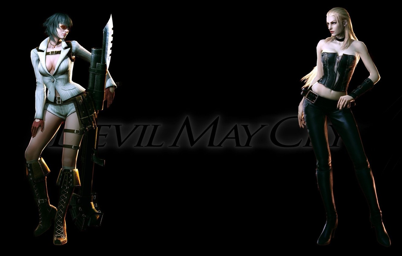 Wallpaper Dmc Lady Devil May Cry 4 Lady Images For Desktop