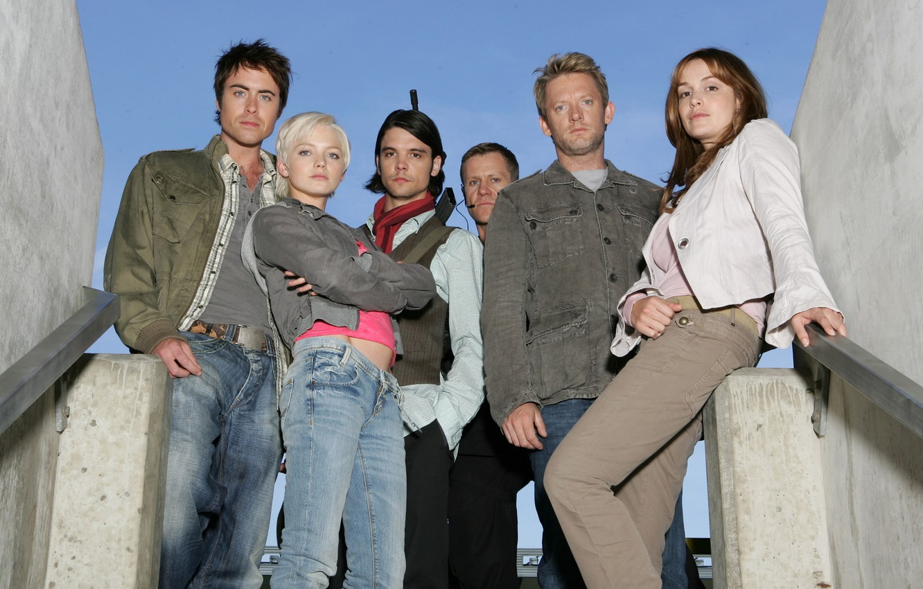Photo wallpaper the sky, The series, actors, Movies, Primeval, Primeval