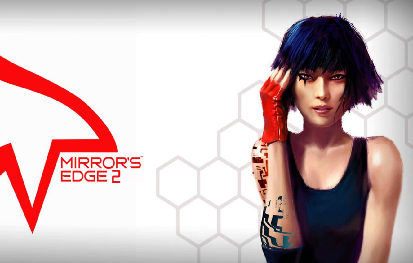 "Photo wallpaper character, Faith, Mirror""s Edge"