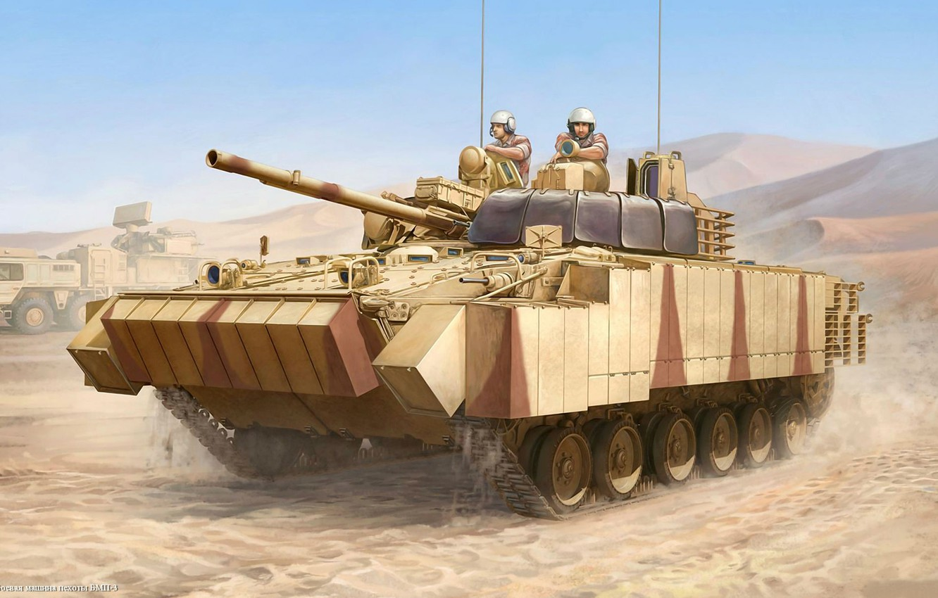 Photo wallpaper army, technique, UAE, Soviet, infantry fighting vehicle, The BMP-3