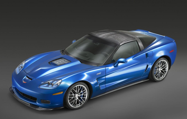 Photo wallpaper car, corvette, zr1, chevrolet, tuning, z06