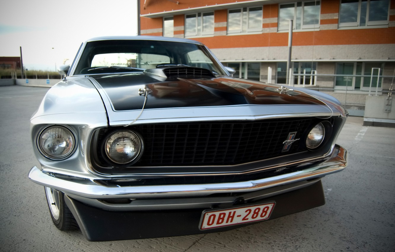Photo wallpaper Mustang, Ford, musclecar