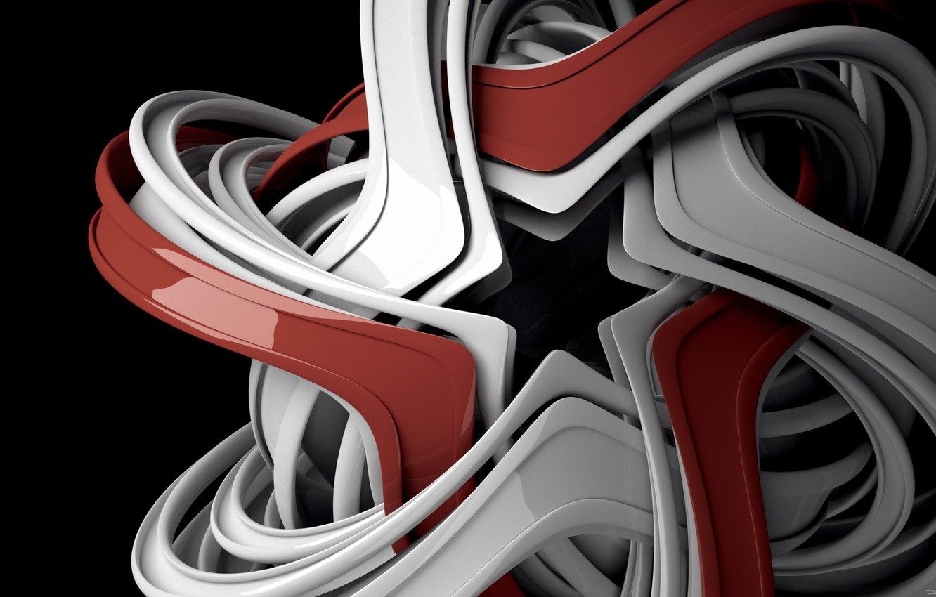 Photo wallpaper tangle, star, structure, 149
