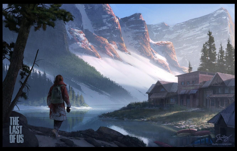 Wallpaper Ellie, Art, Game, The Last of Us, Naughty Dog