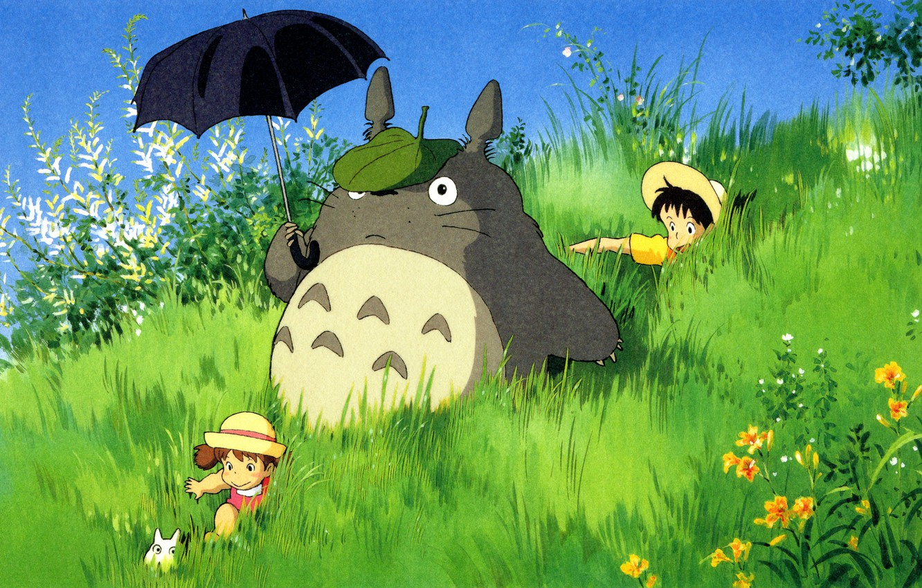 Wallpaper Totoro My Neighbor Totoro Tototo My Neighbor Totoro Images For Desktop Section Prochee Download