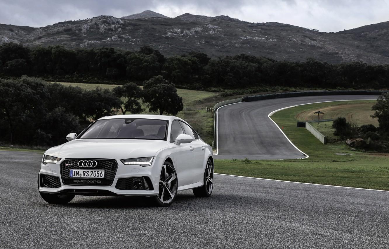 Photo wallpaper Audi, Audi, Sportback, 2014, RS 7
