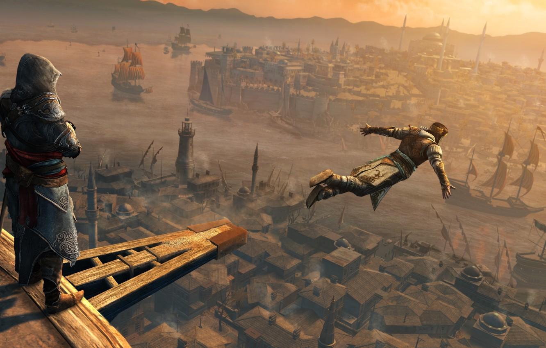 Photo wallpaper Assassin's Creed, Revelations, Constantinople, Yusuf Tazim, Ezio auditore da Firenze