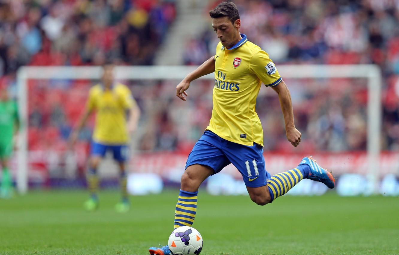 Wallpaper Arsenal, Club, Nike, Football, Ozil, Player