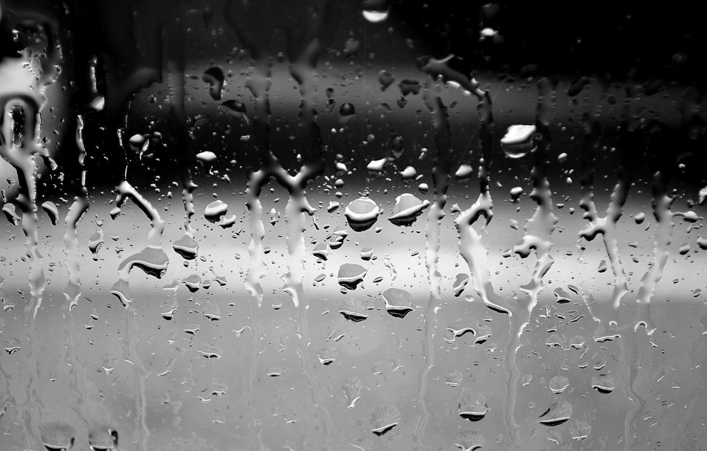 Photo wallpaper water, drops, background, wet