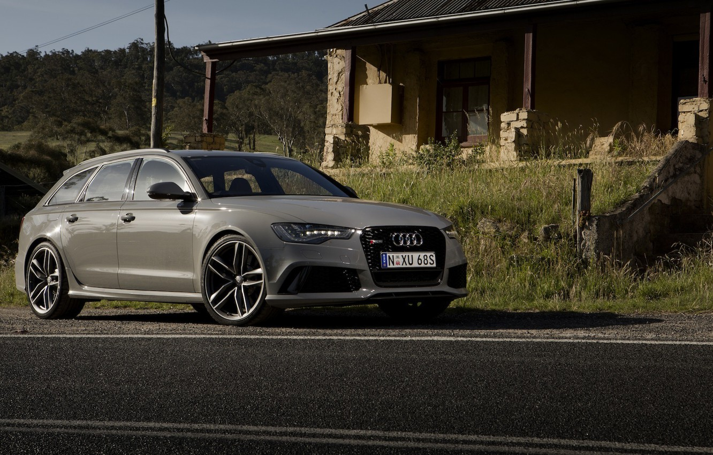 Photo wallpaper Audi, Audi, universal, Before, RS 6, avant