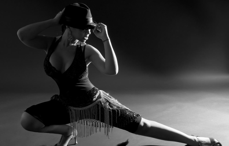 Photo wallpaper tango, hat, dance, pose
