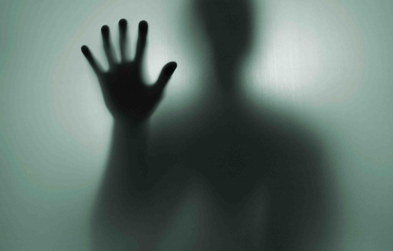 Photo wallpaper hand, shadow, stranger