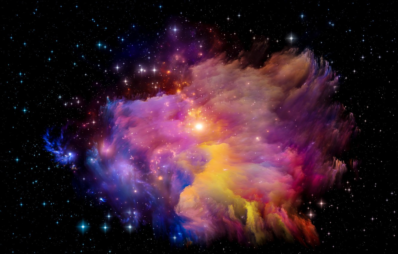 Wallpaper Space Stars The Universe Space Universe Background Stars Astral Images For Desktop Section Abstrakcii Download