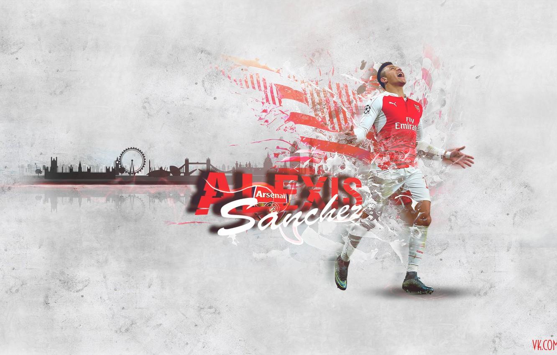 Photo wallpaper arsenal, london, football, alexis