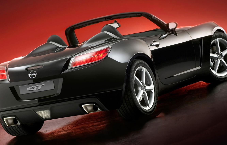 Photo wallpaper Opel, cabrio