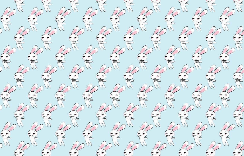 Photo wallpaper background, texture, anime, art, Bunny, children's