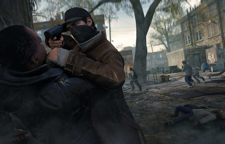 Wallpaper Gun Street Cap Lane Ubisoft Aiden Pearce
