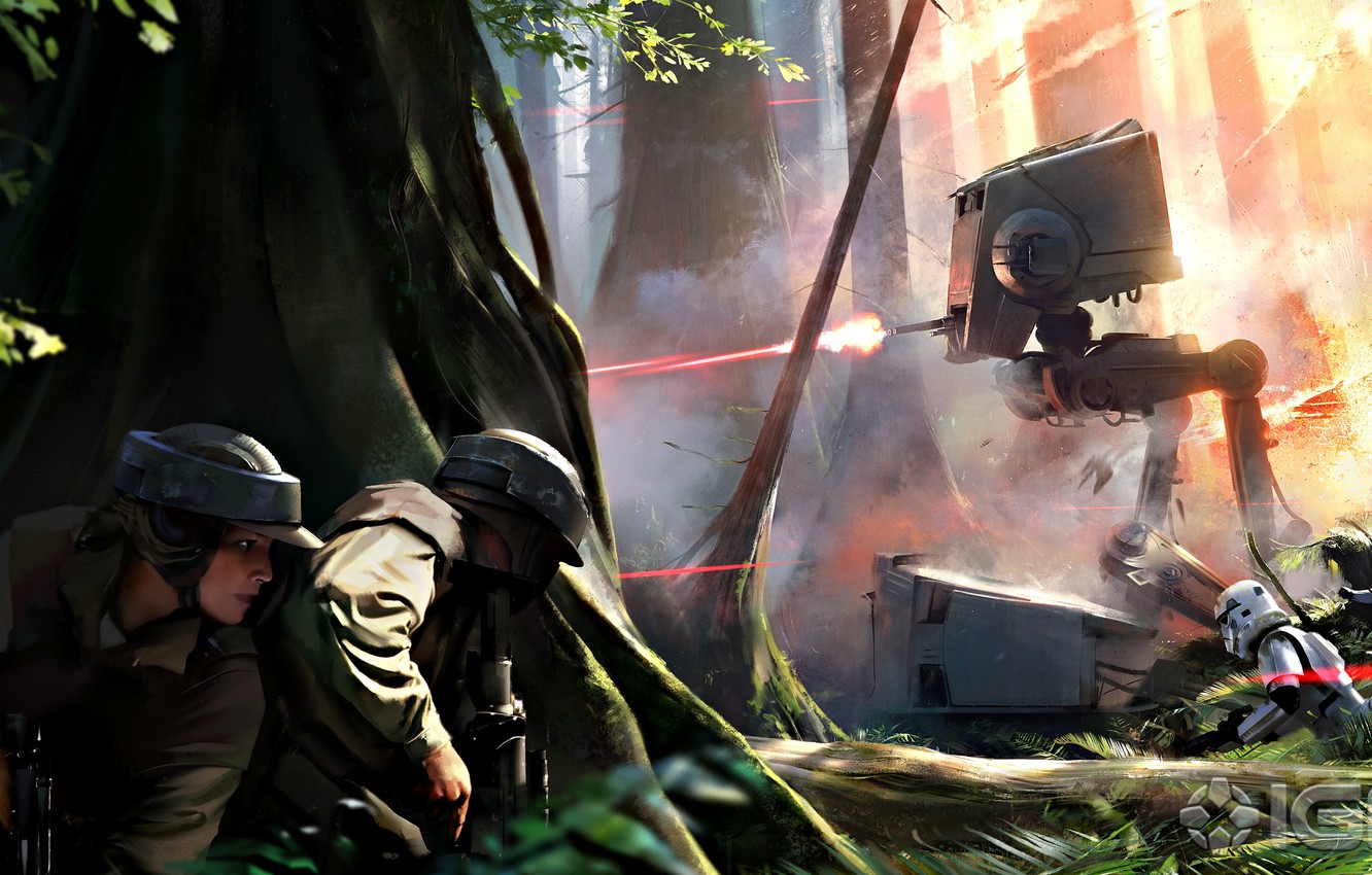 Wallpaper Star Wars Concept Art Battlefront Images For Desktop