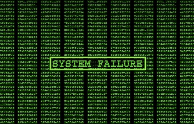 Photo wallpaper The Matrix, system, failure