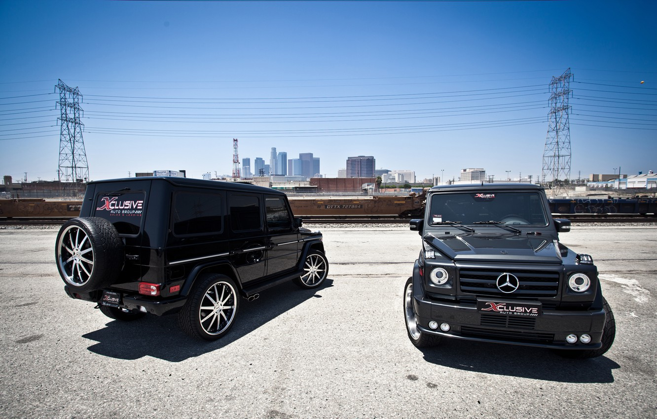 Photo wallpaper tuning, Mercedes, Benz, Mercedes, AMG, brabus, tuning, stance, g65