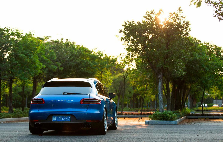 Photo wallpaper Auto, Porsche, rooms, hatchback