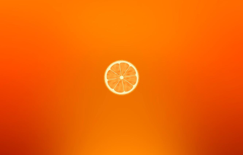 Photo wallpaper Orange, Orange, Fruit