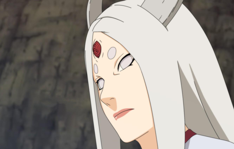 Wallpaper Girl Horns Naruto Art Manga Byakugan Ootsutsuki