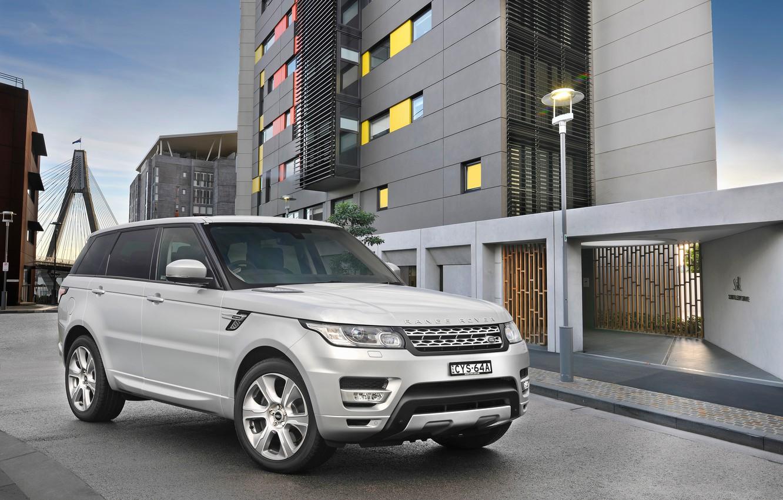 Photo wallpaper Range Rover, HEV, Sport, range Rover, Autobiography, AU-spec, 2015