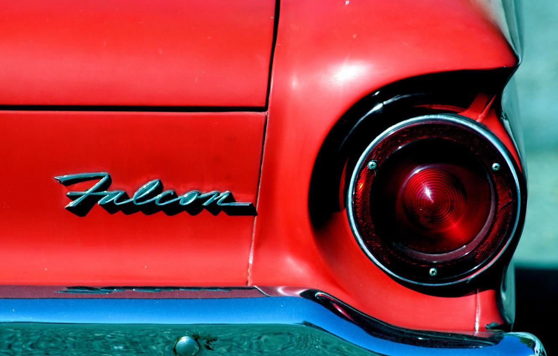Photo wallpaper car, auto, red, ass