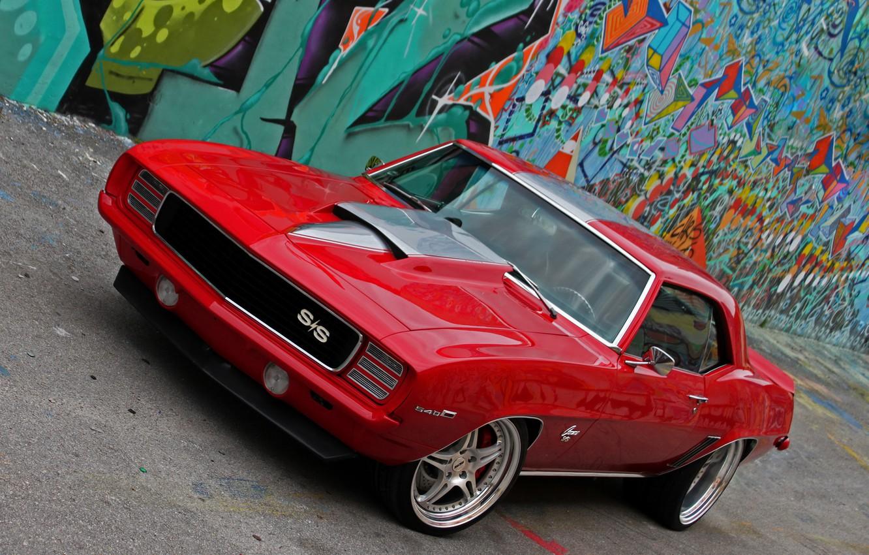 Photo wallpaper 1969, Camaro, Chevy, HRE's!