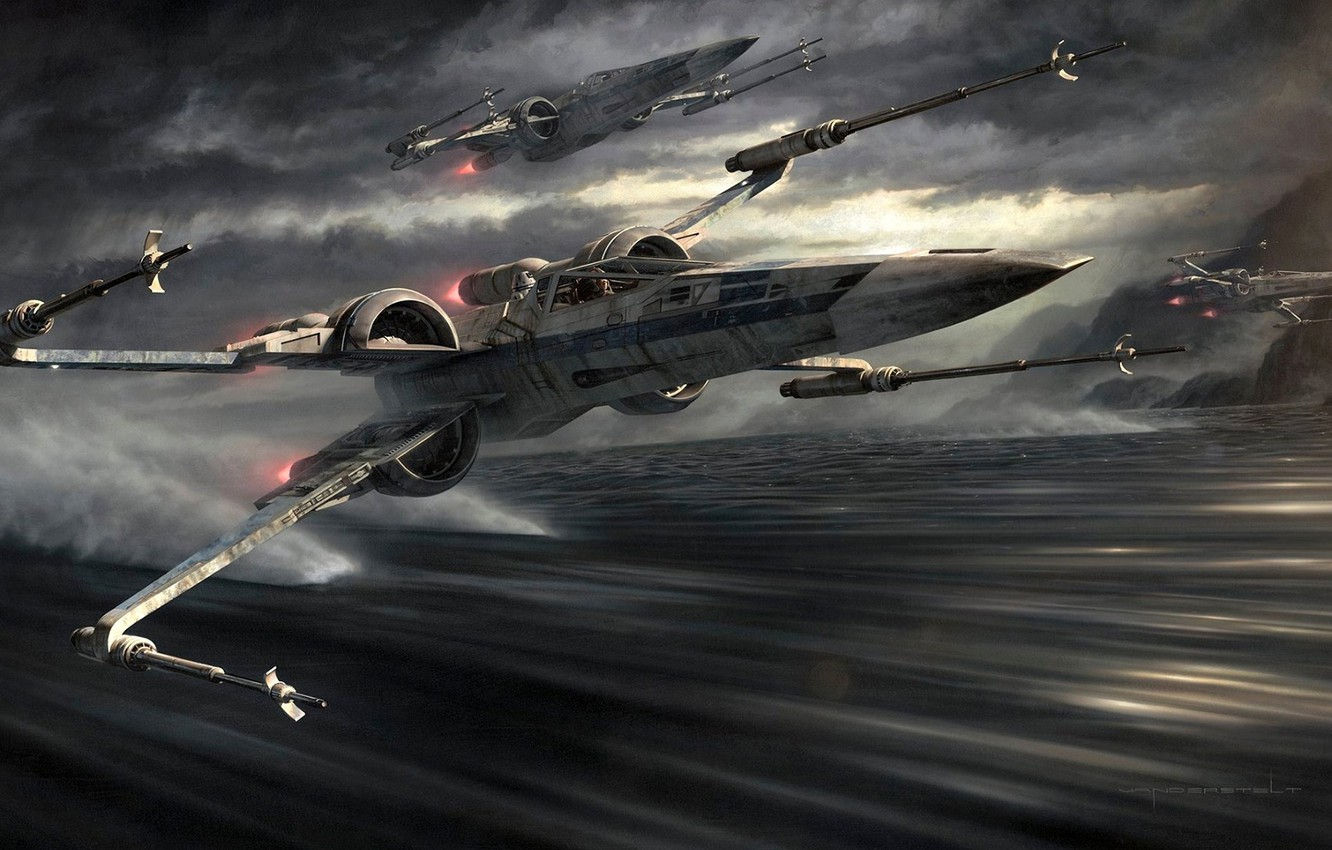 Wallpaper Wars Star Fighters Attack X Wing The Rebellion Images For Desktop Section Filmy Download